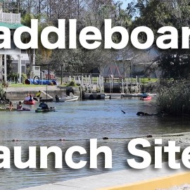 Paddle Board Launch Sites